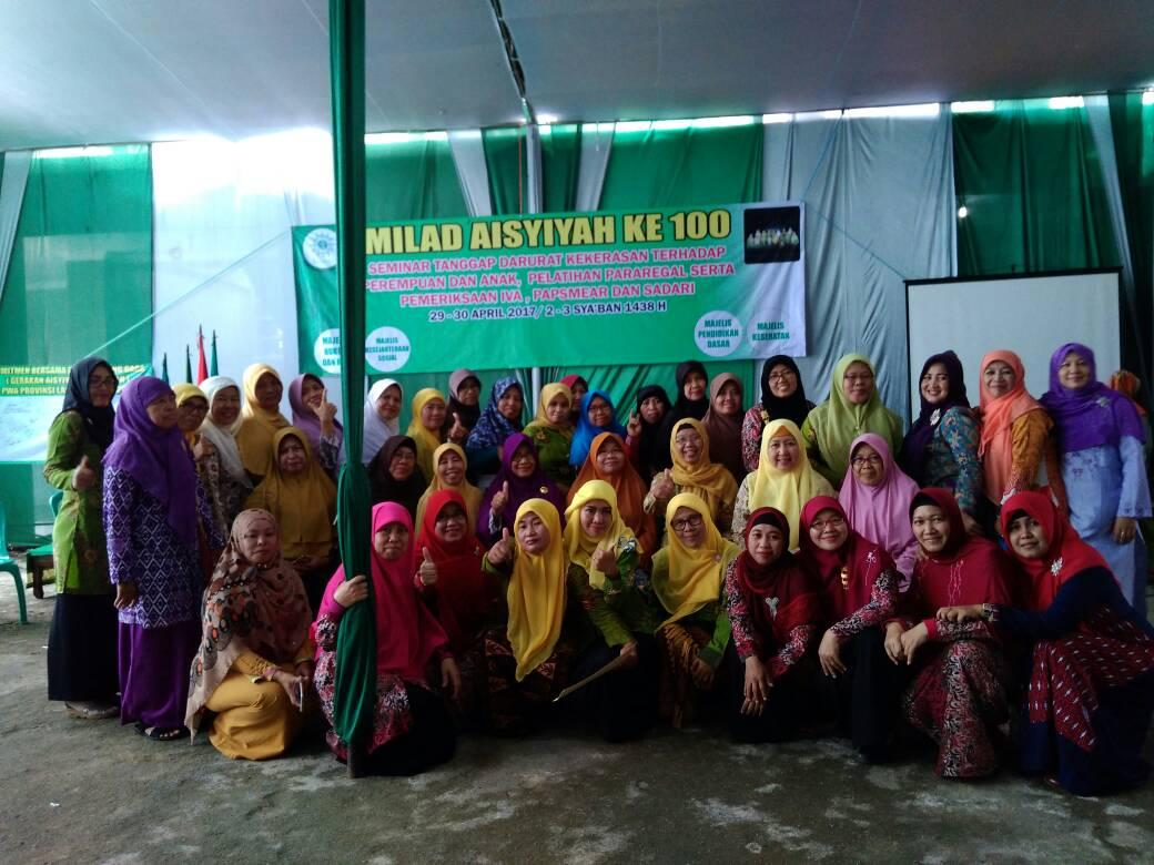 Milad 1 Abad PWA Lampung